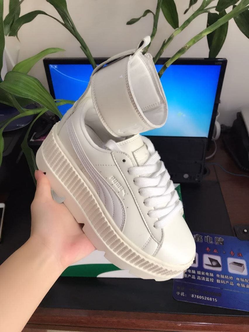 2018Original PUMA Women's FENTY x PUMA Ankle Strap Sneakers Women's Sneakers Badminton Shoes size36-40