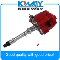 Red Cap High Performance HEI Distributor Fits For Chevrolet\/GM Small Block Big Block 65k