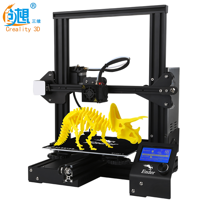 CREALITY Ender-3 3D V-slot Prusa l3 New fashion  DIY KIT Printer(China)