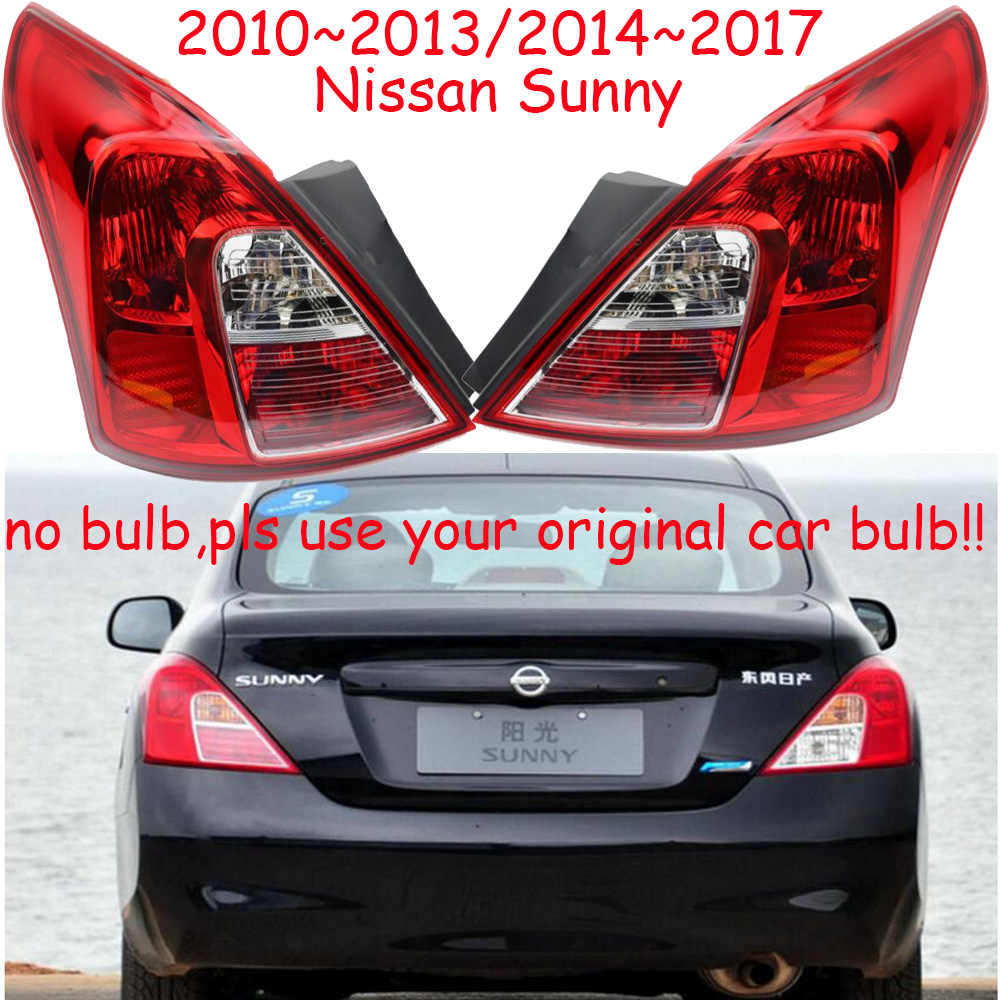 1pcs tail light For Nissan sunny taillights no bulb use your
