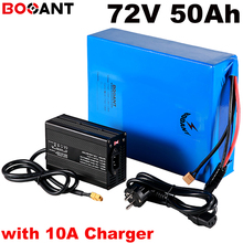 20S 17P 72v 50ah scooter lithium battery for Samsung 18650 cell 72v 5000w electrical bike battery +100Amps BMS +84v 10A Charger