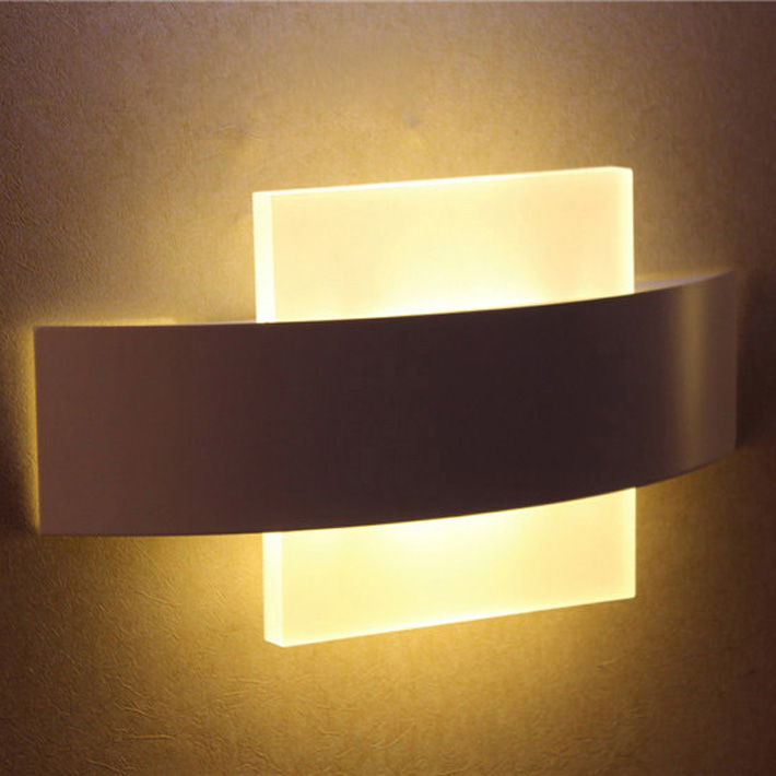 modern LED wall sconce LED  living room foyer bedroom bathroom wall light round square LED wall lampmodern LED wall sconce LED  living room foyer bedroom bathroom wall light round square LED wall lamp