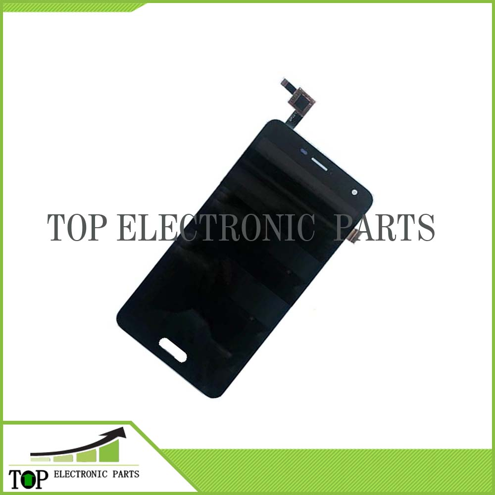 ФОТО black 100% original LCD  display + touch screen assembly TP for elephone P5000 with frame Glass Panel Digitizer Replacement