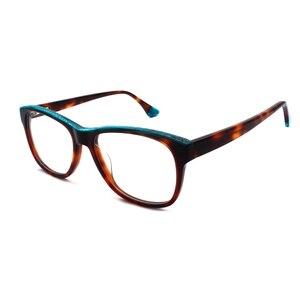Image 4 - HOTOCHKI جديد جودة عالية البصرية للجنسين كبيرة أنيقة نظارات نظارات بمادة الخلات إطارات الرجال النساء موضة صندوق كبير النظارات الإطار