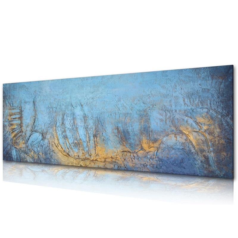 Pintura a Óleo Artesanal sobre Tela Diretamente de Artis Moderna Melhor Arte Flor Original Xd1-081 100%