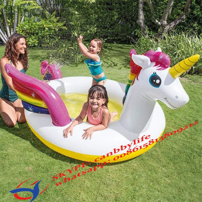 NEW INTEX INFLATABLE RING CHILDRENS GARDEN PADDLING SWIMMING POOL