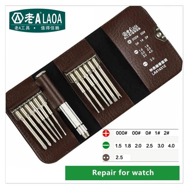 Seturi de șurubelnițe portabile LAOA Set de reparații electronice - Seturi de instrumente - Fotografie 5