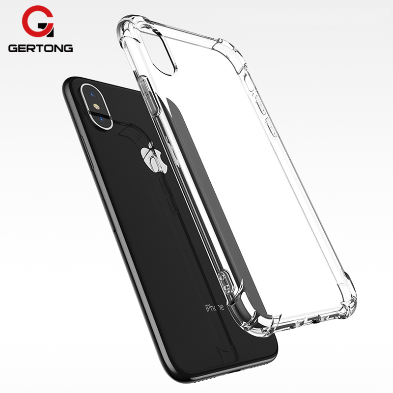 GerTong Silicone Soft TPU Clear Case For iPhone 5 5S SE 7 8 6 S 6S Plus Back Cover Funda Coque For Apple 5 Cases Phone Bag Shell
