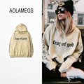 Aolamegs Men Hoodies Letters Printed Hoodie Men/Womens Couples Casual Hooded Sweatshirt Harajuku Justin Bieber Clothing S-3XL