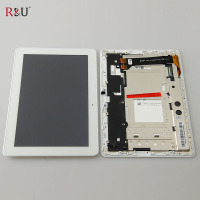Test Good LCD Display Touch Screen Panel Assembly With Frame For Asus Memo Pad 10 ME102A