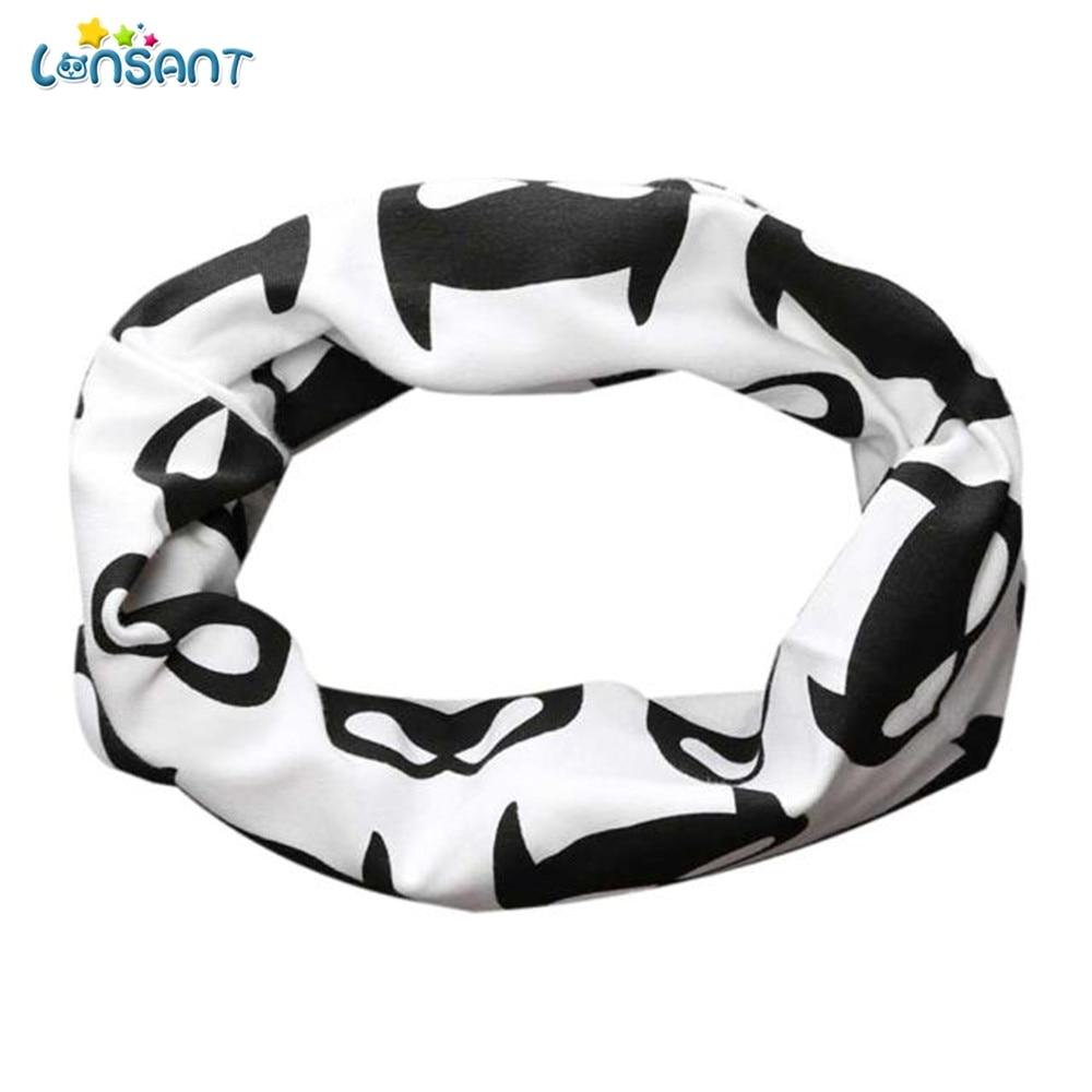 LONSANT Симпатичные для маленьких мальчиков девочек шарфы шеи палантины кольцо шарф платок шейный платок хлопок нагрудники для От 0 до 3 лет