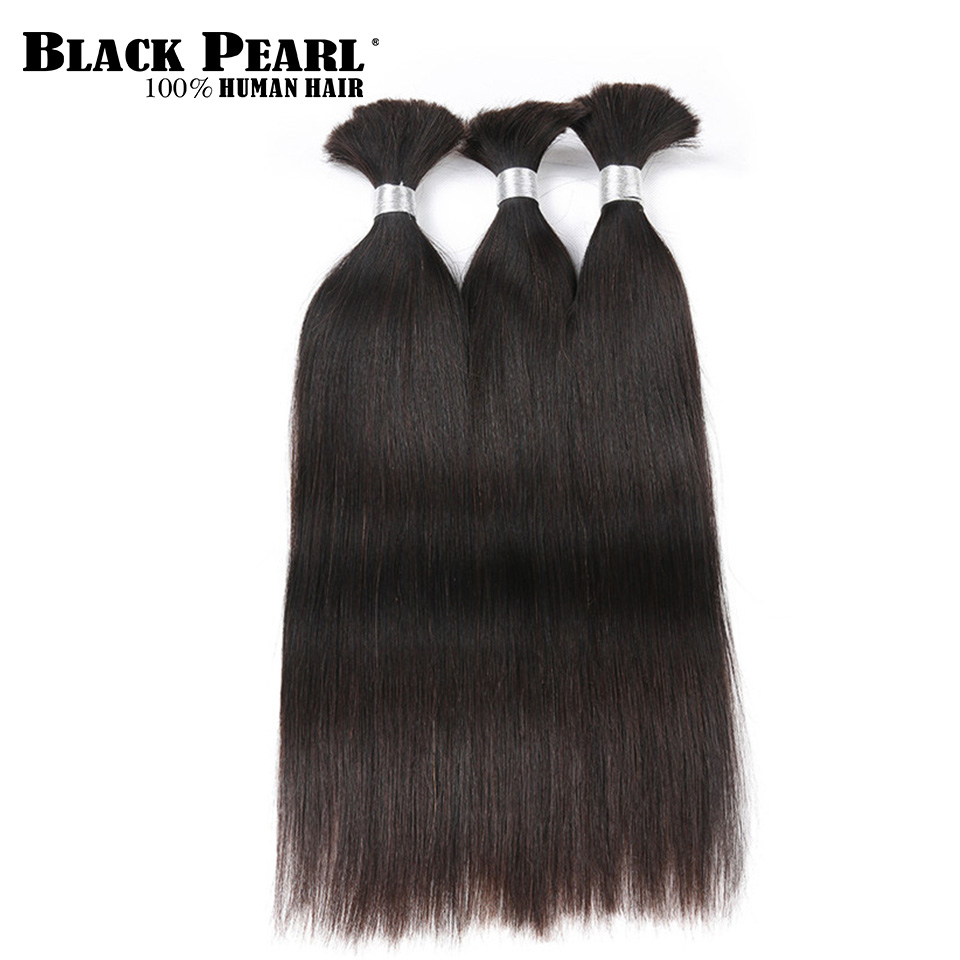 Hair Extensions & Wigs Hair Weaves Black Pearl Pre-colored Deep Wave Brazilian Hair Bulk Braiding Hair Extensions 1 Bundle Remy Human Hair Bundles Braids Hair Deal