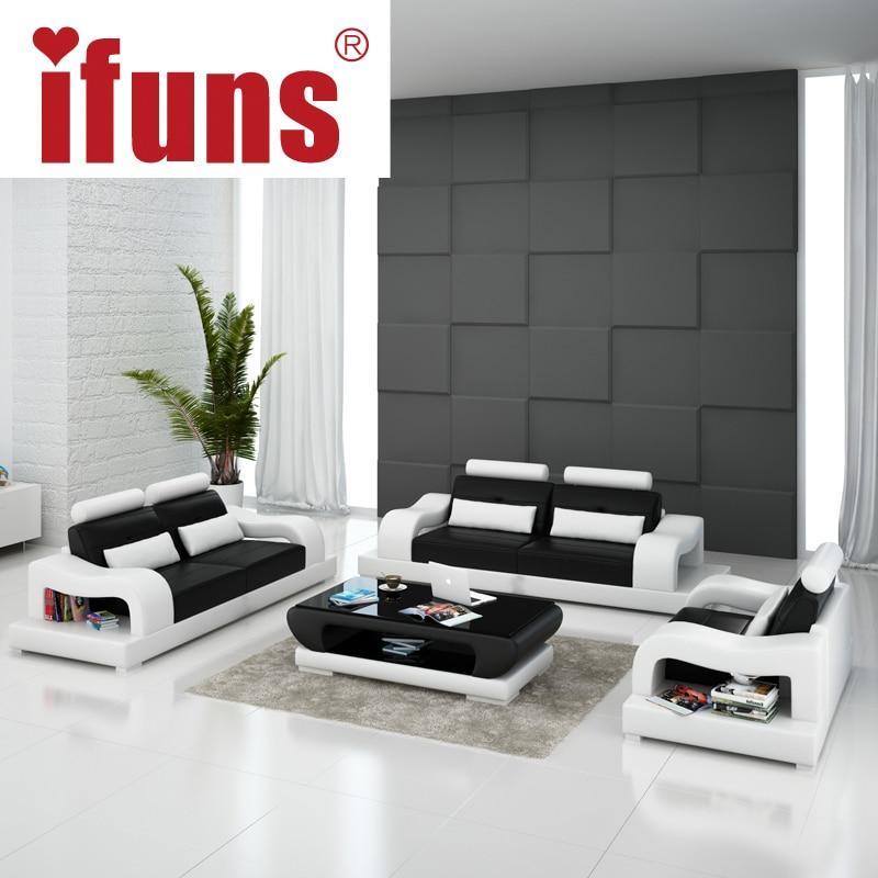 Moderne Polstermobel Designer Sofa Kombiniert Zwei Sitzhohen ...