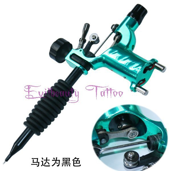 Dragonfly Rotary Tattoo Machine Shader & Liner Orange Color Tatoo Motor Gun Kits Supply For Artists blue color Free shipping