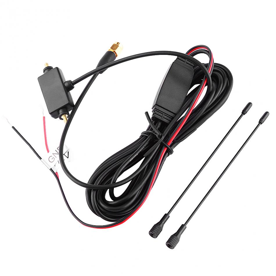 Car Digital TV Antenna SMA Active Antenna with Built-in Amplifier for Digital TV Strong Receiving Signal