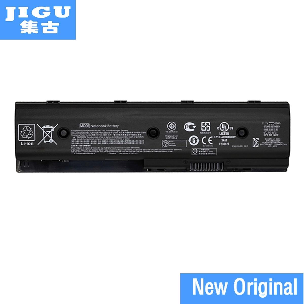 Jigu Mo06 Mo09 Hstnn-lb3p Original Batería Del Ordenador Portátil Para Hp Pavilion Dm6 Dm6t M6 Dv4-5000 Dv6-7000 Dv7-7000 11,1 V 62wh
