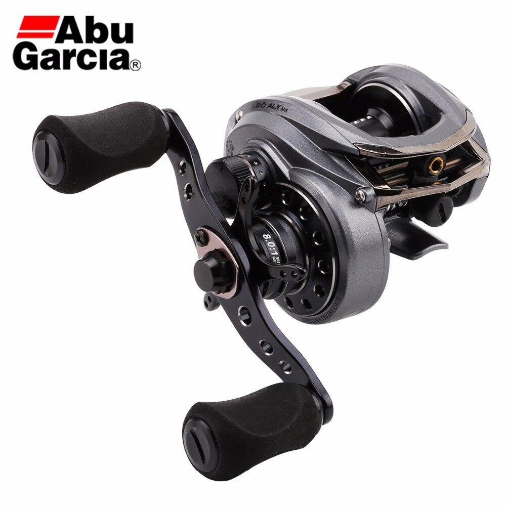 Abu Garcia Revo ALX 8 0 1 Baitcasting Fishing Reel 9BB 155g Water Drop Wheel Adjustable