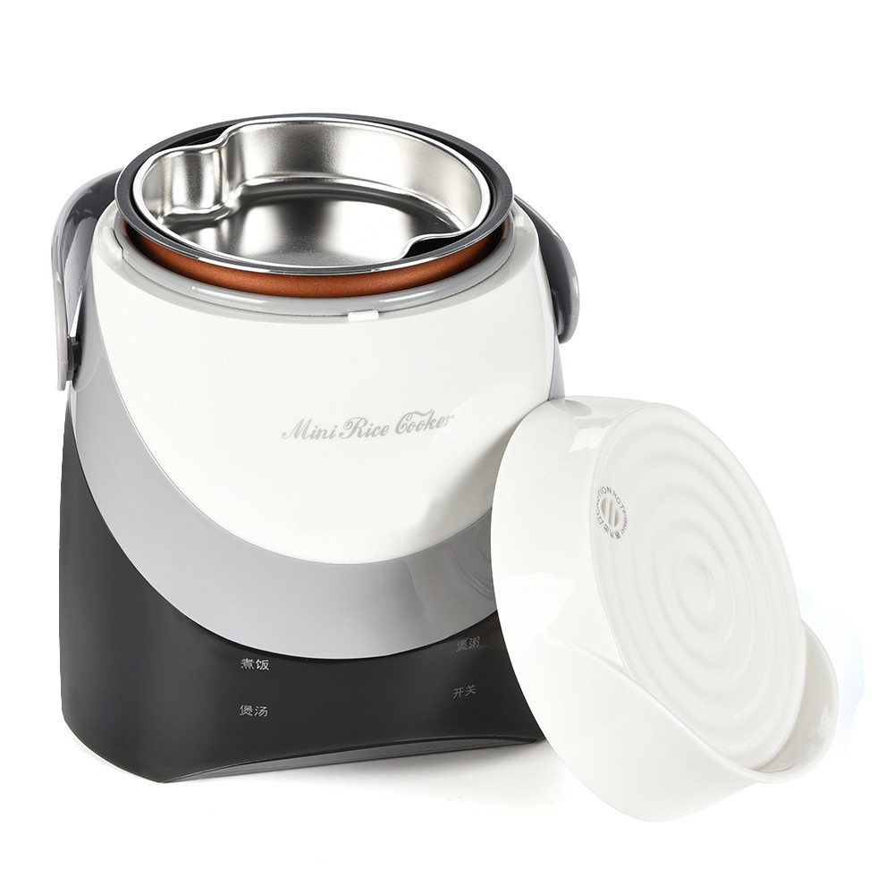 1.3L Rice Cooker Electric Cooking Lunch Box Mini Steam Cook Keep Warm Heating C610