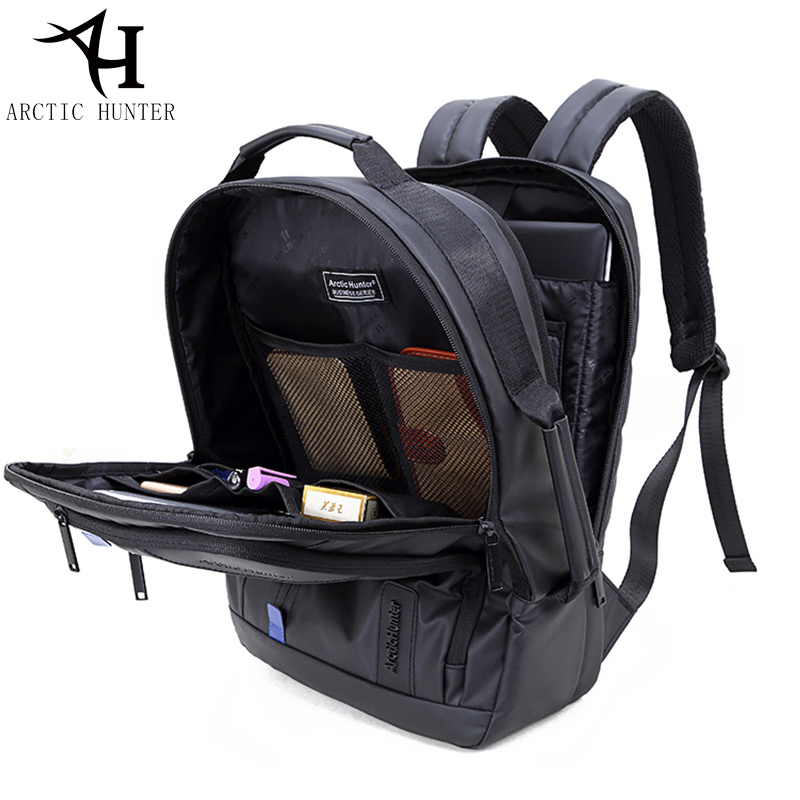 f16c978fb6b ARCTIC HUNTER Multifunction waterproof backpack men 15.6 inch laptop  backpacks Business travel back pack   Hand bag Dual use-in Backpacks from  Luggage ...