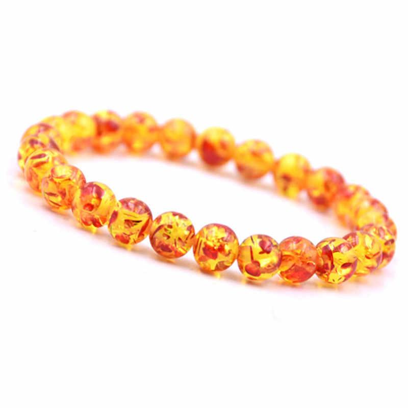 Charm Natural Lava Stone Bracelets For Women Fashion Glass Beads Adjustable Healing Chakra Bracelet Men Jewelry Christmas Gifts