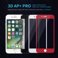 For IPhone 7 7Plus Tempered Glass Screen Protector AP PRO 3D Edge Shatterproof Full Screen Glass