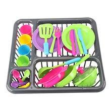 28 шт. детские игрушки для игр и ролевых игр обучающая кухня для готовки посуда игровой набор