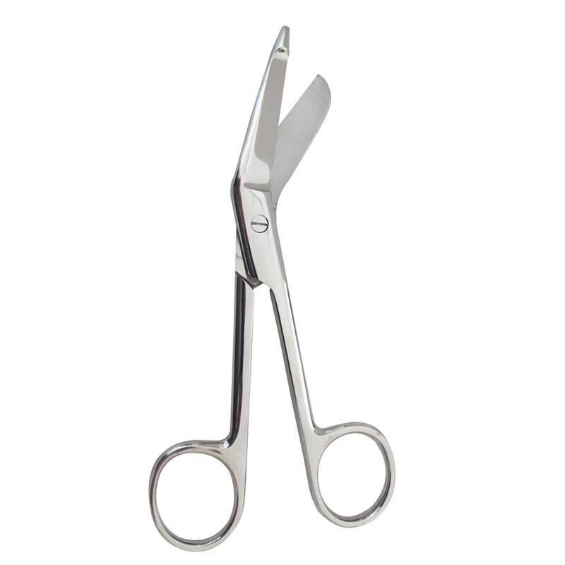 WINOMO Stainless Steel Bandage Scissors 14cm Nursing Scissors for Medical Home Use medical micro plastic use stainless steel