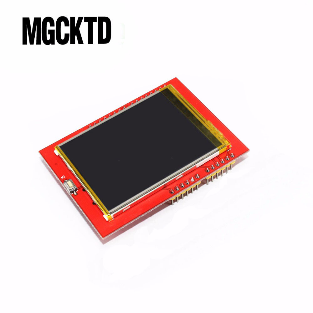 LCD module <font><b>TFT</b></font> 2.4 inch <font><b>TFT</b></font> LCD screen for <font><b>Arduino</b></font> UNO R3 Board and support mega 2560 with gif Touch pen image