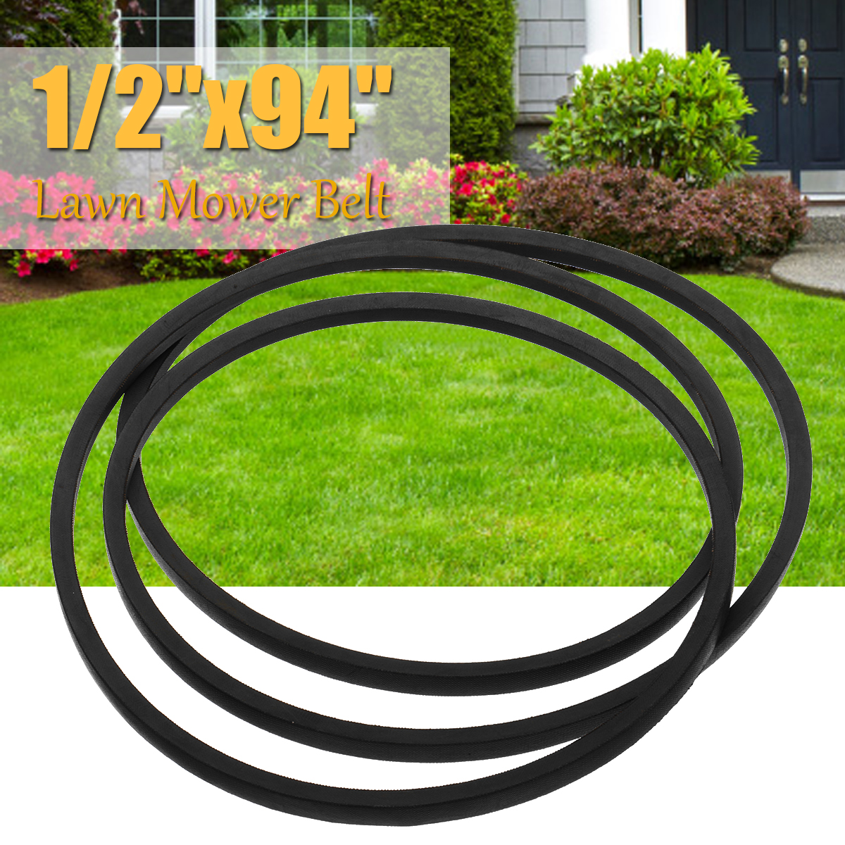 Tractor Drive Band V-Belt Vee Type Transmission Tapes A92 Yard Machine Lawn Mower Belt 13mm 1/2