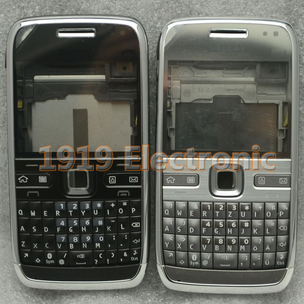 New Full Complete Mobile Phone Housing Cover Case With English Or Russian Keypad For Nokia E72 + Tools