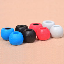 2pair(4pcs) Noise Isolating Memory Foam 5mm Oval Ear Tips Slow Rebound Eartips For In Ear Earphones Free Shipping(China)