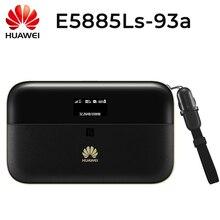 화웨이 E5885Ls 93a cat6 모바일 와이파이 pro2 6400 mah 전원 은행 배터리와 하나의 rj45 lan 이더넷 포트 e5885 라우터와 잠금 해제