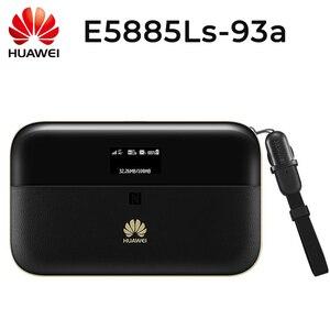 Image 1 - ปลดล็อค HUAWEI E5885Ls 93a cat6 mobile WIFI PRO2 6400 mah Power Bank แบตเตอรี่และ RJ45 LAN Ethernet พอร์ต E5885 router