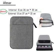 Universal 9.7 10.1 pulgadas bolso de la Tableta para el ipad 2 3 4 Aire zenpad ONYX BOOX PocketBook SURFpad cubren menos del tamaño: 26.5*20 cm
