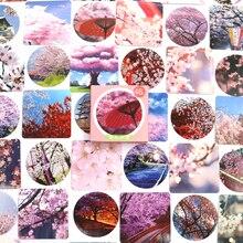 46 PCS/box Beautiful Flower Decorative Stickers Adhesive Stickers DIY Decoration Craft Scrapbooking Stickers Gift Stationery недорого