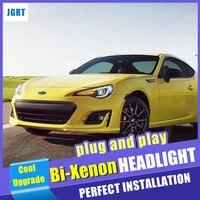 2012 2018 For Toyota FT86 GT86 headlights car styling bi xenon lens projector car light For Subaru BRZ dynamic turn signal