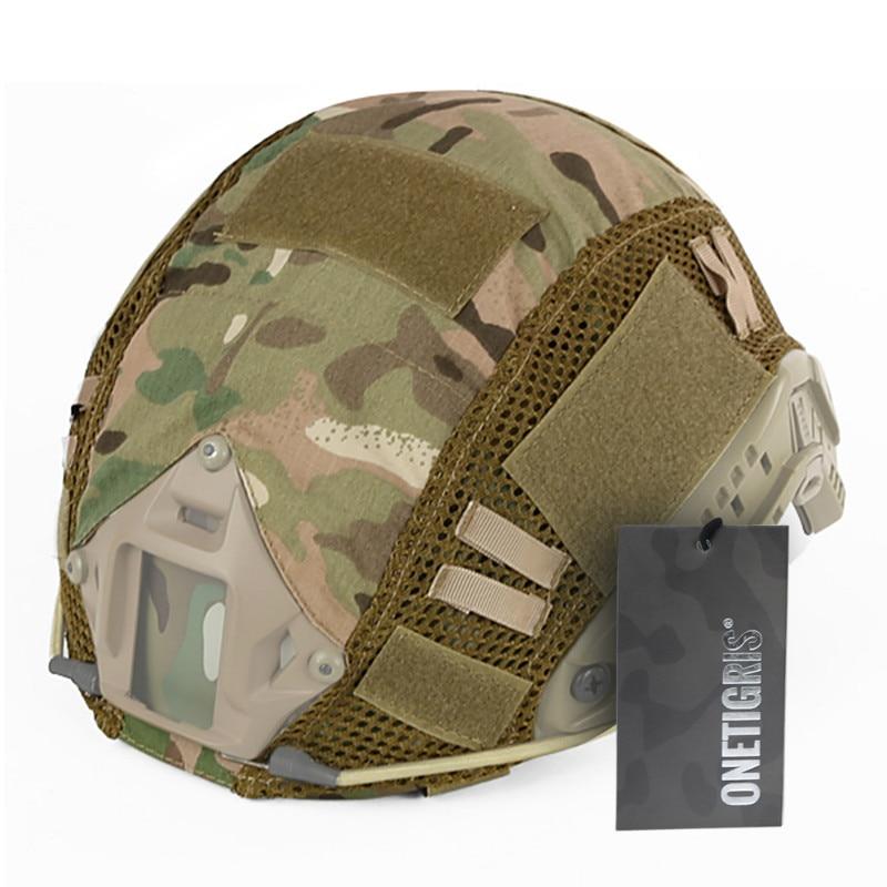 Prix pour OneTigris Tactique Militaire Casque Couvre Couverture de Camouflage Airsoft Paintball Tir Casque Accessoire pour RAPIDE MH/PJ Casque