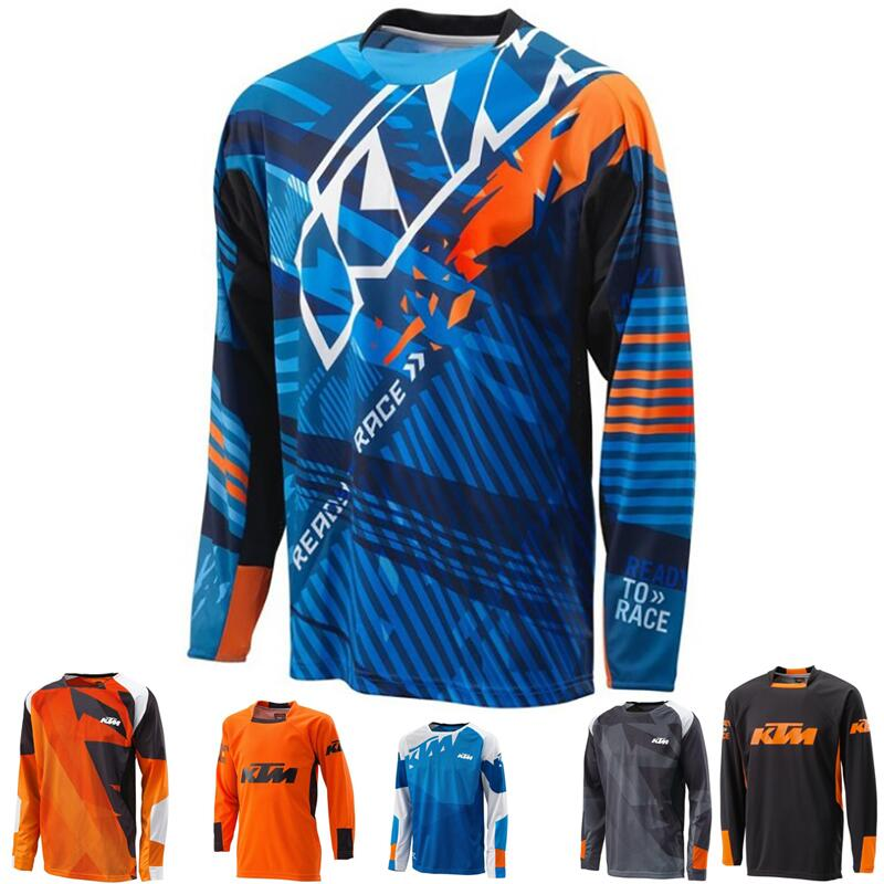 Motocross Jersey maillot ciclismo 2018 Mountain downhill Bike long sleeve cycling Jersey DH MX RBX MTB racing clothes Off-road