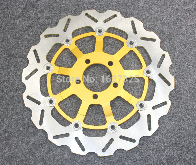 Brand new Motorcycle Rear Brake Disc Rotors For KAWASAKI ZZR 1100 D1-D9 93-01 Universel motorcycle rear brake disc rotors for gtr 1000 86 93 universel