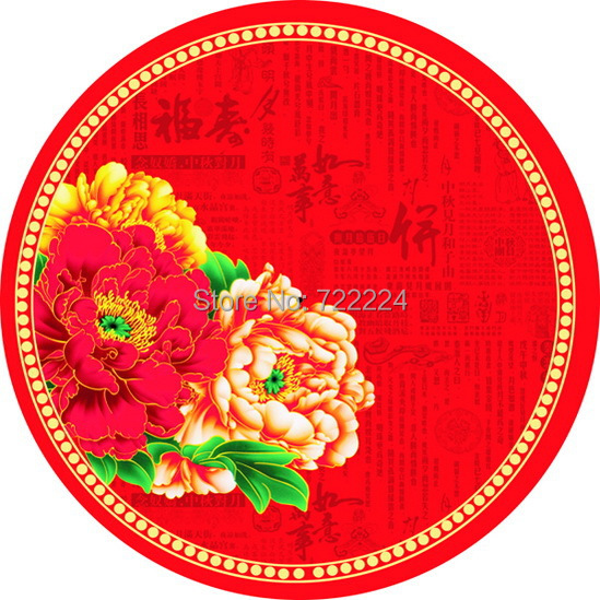 Free shipping dia 84cm chinese traditional handmade red peony oiled paper umbrella decorative wedding umbrella festival umbrella [randomtext category=