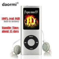 100 p Yüksek Kalite LCD 1.8 inç 8 GB (sanal 32 GB) spor MP3 Çalar Müzik Çalma 4th gen FM Radyo E-kitap ile HD Video MP4 Çalar