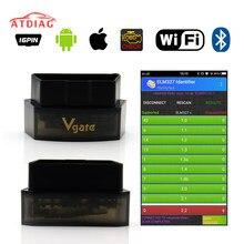 Original vgate icar pro bluetooth 4.0/wifi obd2 scanner para android/ios ferramenta de diagnóstico do carro elm327 v2.1 icar pro bluetooth/wifi