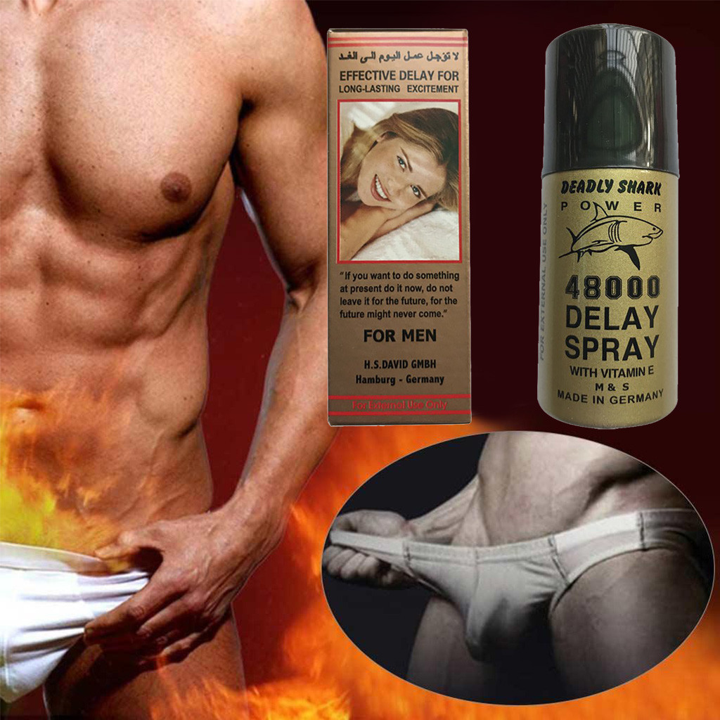 Male Delay Spray Shark-Deadly 480000 Reduces Overspeed Sensitivity-723 Hot-Selling