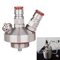 Ball Lock Mini Keg Tap Dispenser For Mini Beer Keg 304 Stainless Steel Dispenser Growler Homebrew Spear 2L Beer Tool