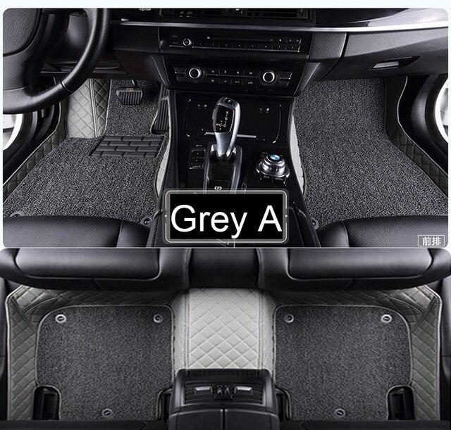 Auto Vloermatten Voor Hyundai Ix25 Ix35 Tucson Santa Fe Sonata Verna Accent Tapijt Voet Case Tapijten Alle Weer Liners