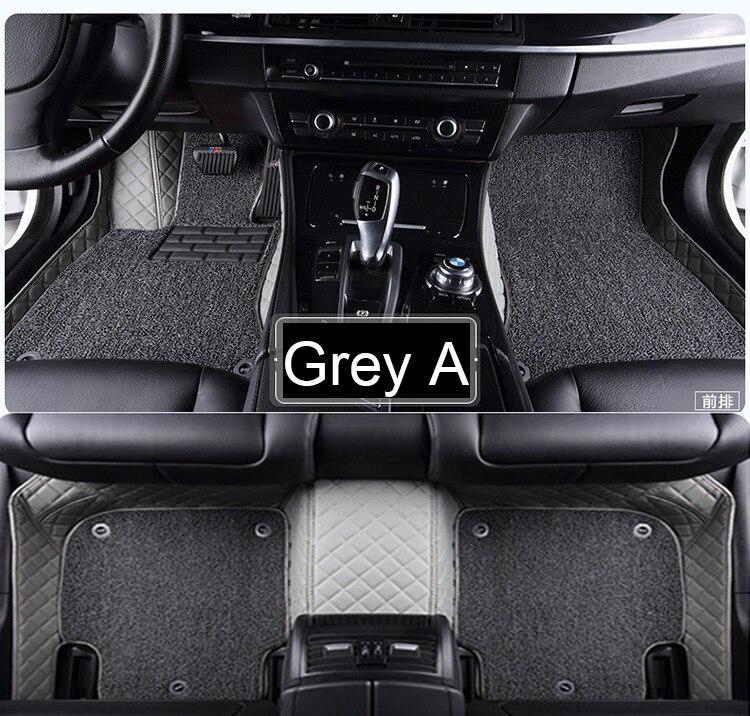 Car floor mats for Hyundai ix25 ix35 Tucson Santa Fe Sonata Verna Accent carpet foot case rugs all weather liners