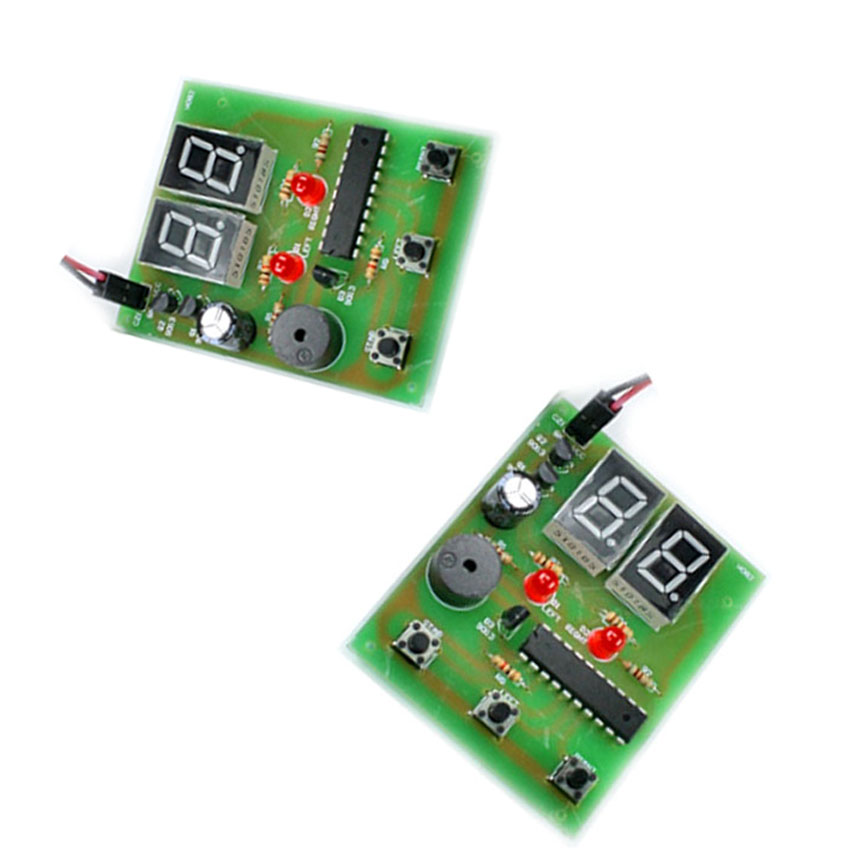 Computer Product Tester 2pcs/lot human body reaction speed tester board finished product human body reaction speed detection circuit module