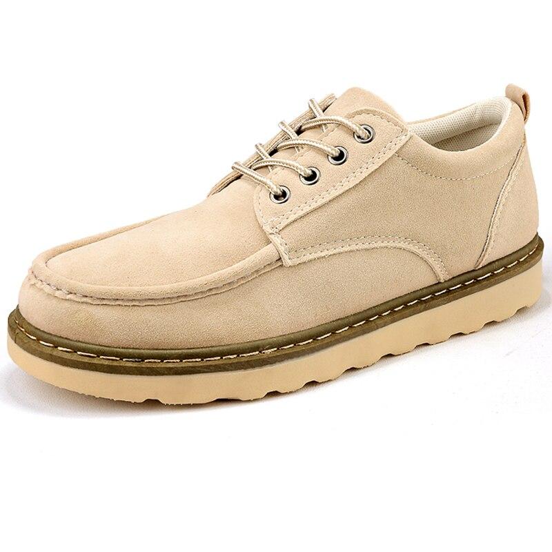 yellow khaki Semelle Casual Mode Haute Vente Qualité Chaude Sneakers Black Noir Hommes Mâle Épaisse Troupeau Zapatillas Chaussures Travail Marche Appartements wUSqRxHA