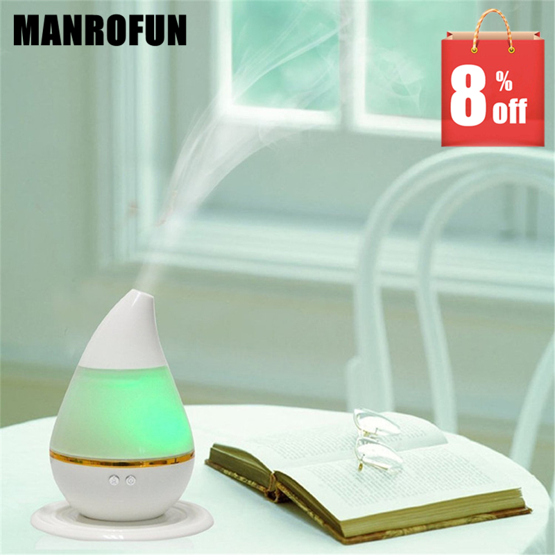 USB 250ml NEW FREE SHIP Water droplets mini Essential Oil Diffuser aromatherapy humidifier atomizer car air purifier