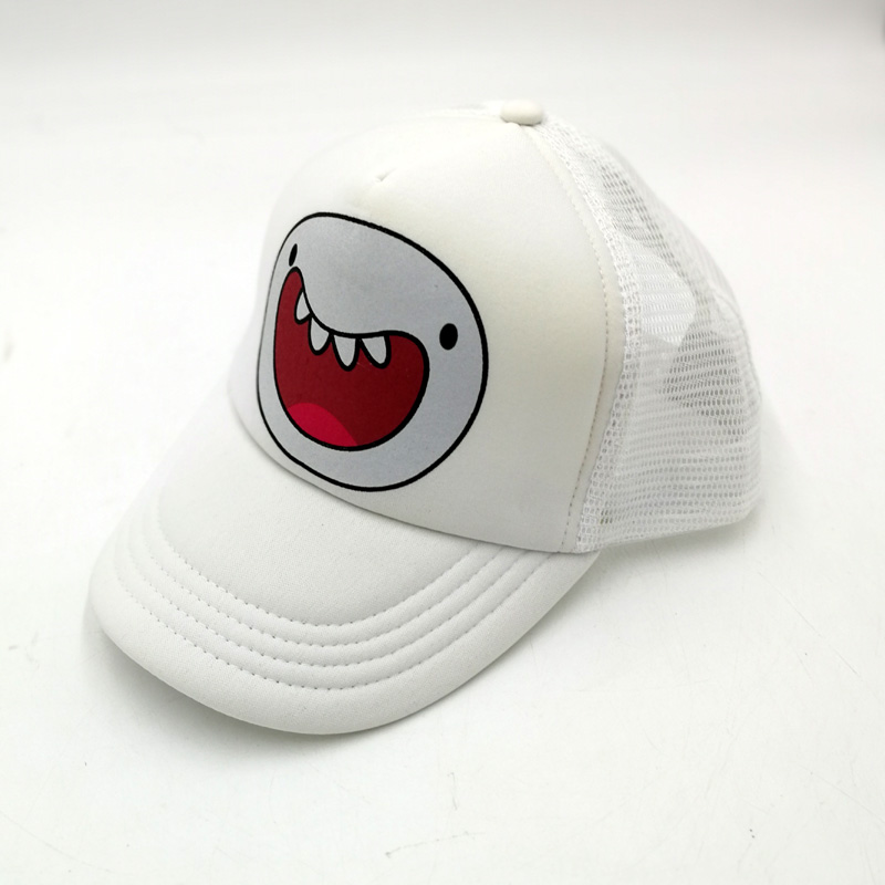 d3dd6f6f6ef Casual Baseball Caps Cartoon Adventure Time with Finn and Jake Dog Mesh Adjustable  Caps Unisex Men Women for Summer -in Baseball Caps from Apparel ...
